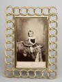 Rectangular Brass Photo Frame, Circa 1890