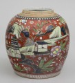 Chinese Export Clobbered Jar, Circa 1780