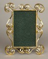 Antique Brass Art Nouveau Frame, Circa 1900