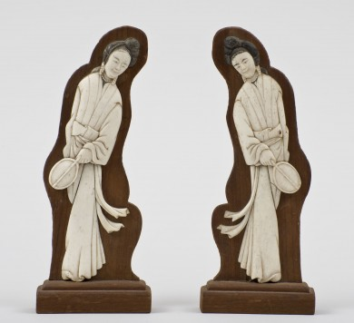 Chinese Carved Ivory Figures