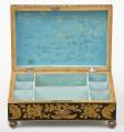 Late Regency Chinoiserie Penwork Box, Circa 1830