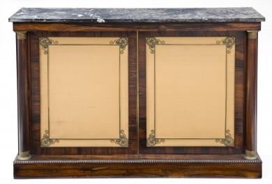 Regency Period Rosewood Side Cabinet, Circa 1810