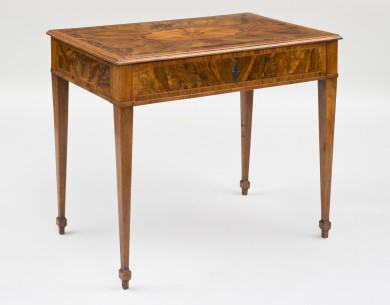 Northern Italian Inlaid Table, Circa 1800
