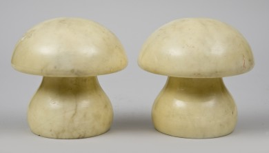 Mushroom-Shaped Bookends