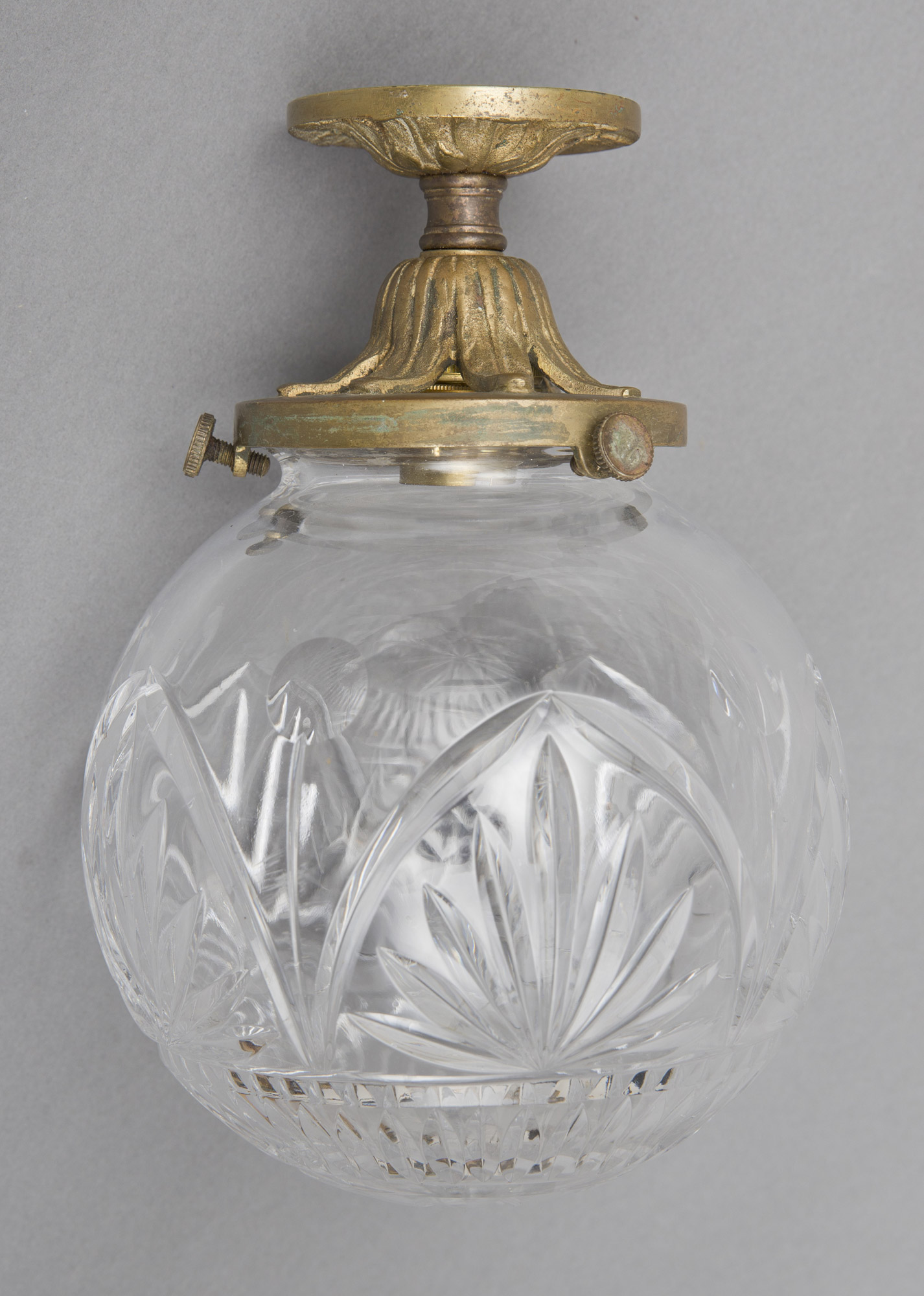 Antique Cut Glass Ceiling Light Antique Light Fixtures
