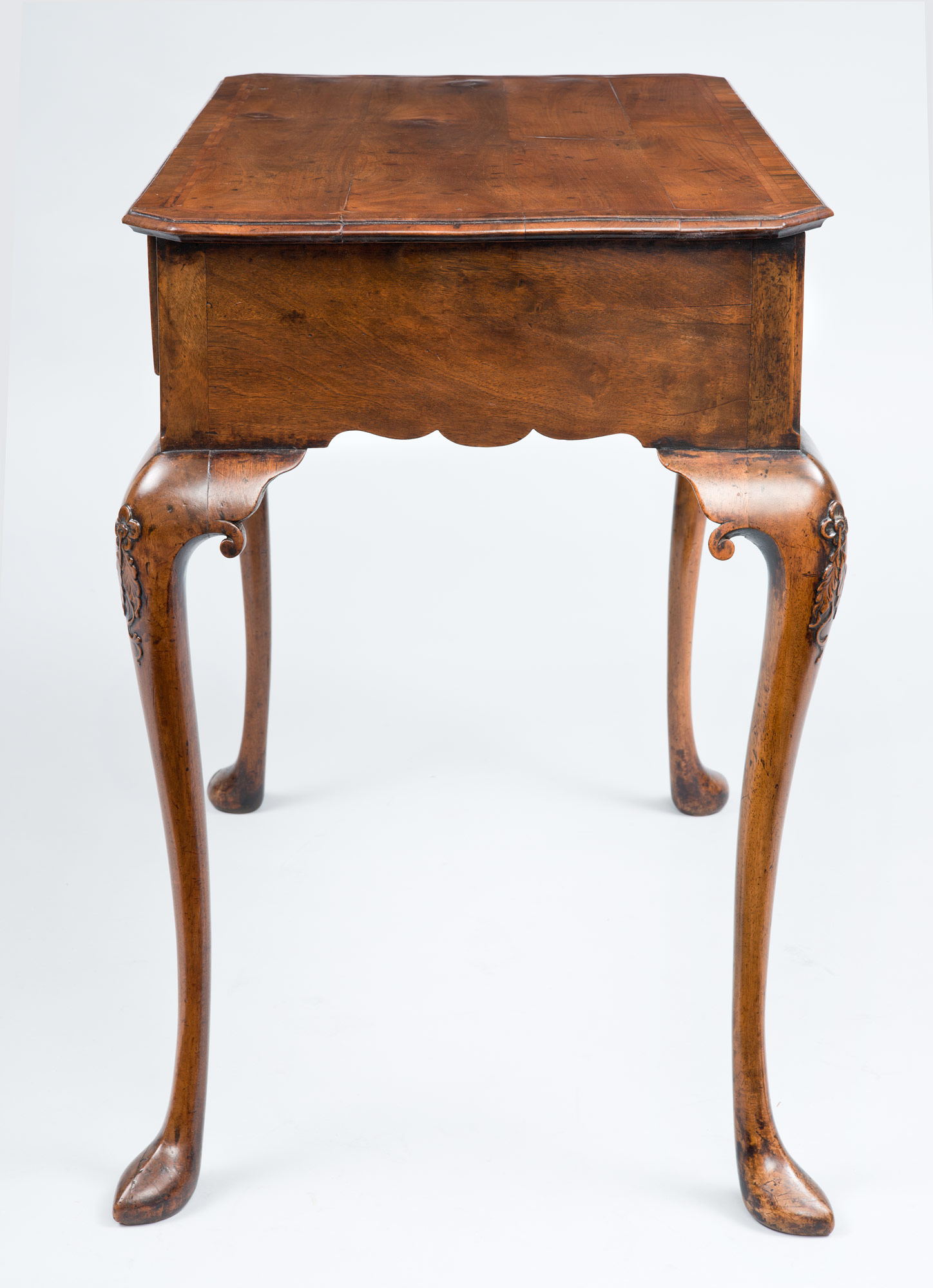 Antique Side Tables Queen Anne Walnut Antique Side Table