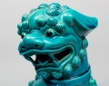 Chinese Large Turquoise Foo Dog