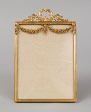 Gilded Bronze Photo Frame