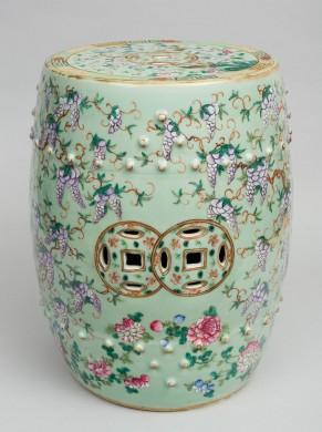 Chinese Garden Seat, Circa 1870