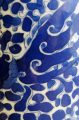 Chinese Qing Dynasty Blue and White Vase