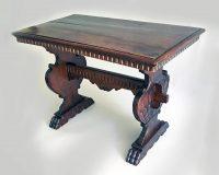 Italian Baroque Style Walnut Side Table