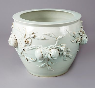 Large Chinese Porcelain Jardiniere