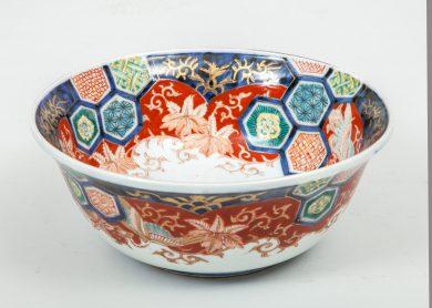 Imari Bowl with Exotic Bird
