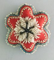 Native American Indian Beadwork Pin Cushion