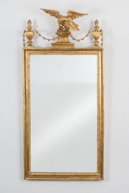 Sheraton Period Pier Mirror