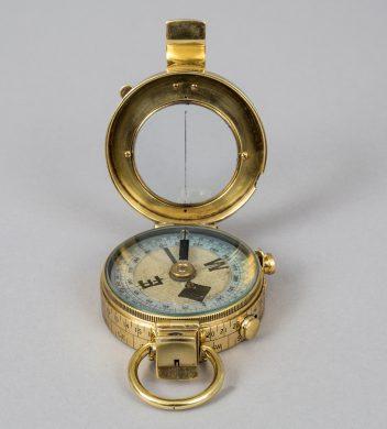Verner's Pattern Prismatic Compass