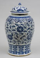 Antique Chinese Porcelain Baluster-Shaped Vase