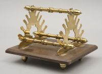 Antique Gutta Purcha & Brass Pen Holder, Circa 1870