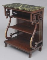 Antique English Late Regency Pier or Console Table, Circa 1835