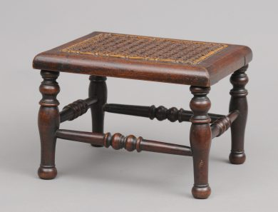 Antique Miniature Apprentice Stool, Circa 1870