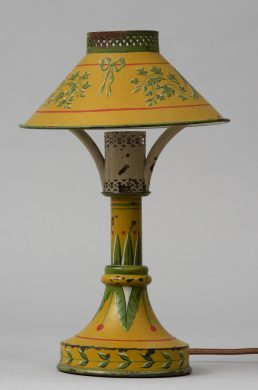 Antique French Tole Night Light, Circa 1900