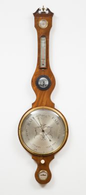 Antique Georgian Wheel Barometer