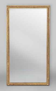 English Carved Giltwood Pier Mirror