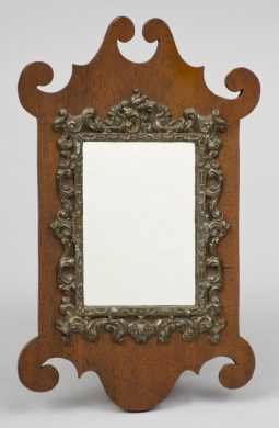 Antique Miniature Chippendale Mirror, Circa 1875