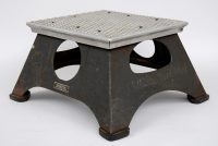 New York Central Train Step Stool-Main Angled View