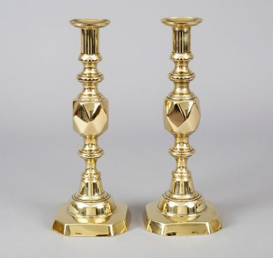 Antique Pair Brass