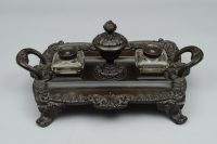 Regency Bronze Partners Inkstand, Circa 1820