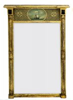 Antique Regency Giltwood Pier Mirror