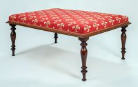 Regency Rosewood Bench-Angled View Main