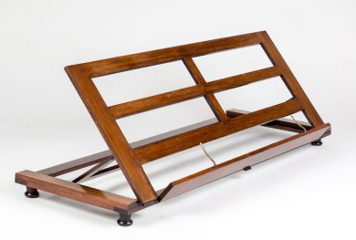 George IV Rosewood Table Top Music or Book Stand