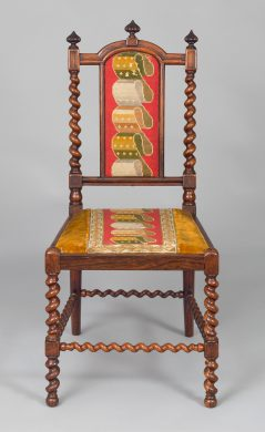 Rosewood Child's Side Chair