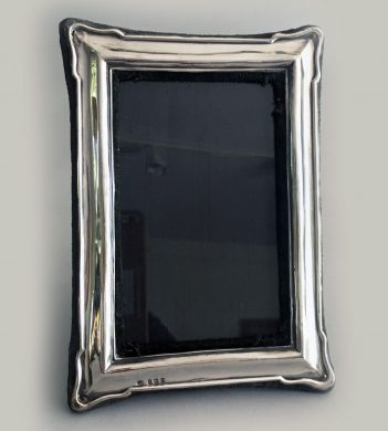 Antique English Sterling Silver Photo Frame, 1938