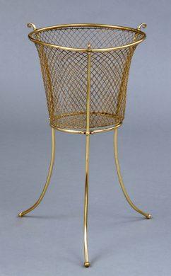 Antique Waste Paper Basket or Jardiniere