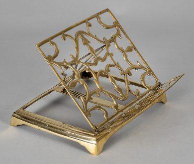 Brass Adjustable and Folding Bookrest