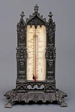 Bronze Desk Thermometer, Circa 1828