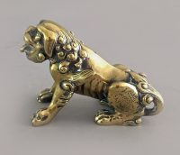 Chinese Bronze Lion
