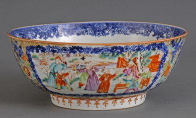 Chinese Mandarin Bowl
