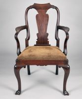 Chinese Export Rosewood Armchair, Circa 1780