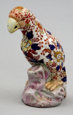 Chinese Imari Parrot, Circa 1880