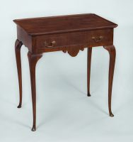 Dutch Mahogany Tray-Top Tea Table
