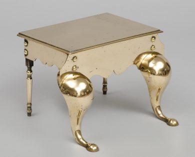 Antique English Brass Footman