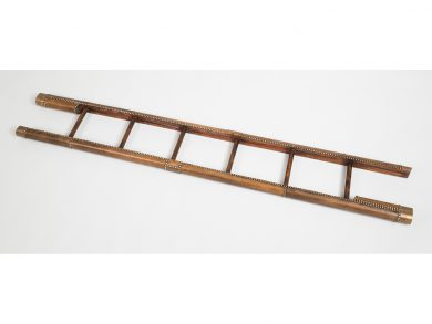 Antique Library Pole Ladder