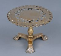 Regency Brass Trivet, Circa 1825