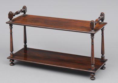 Regency Rosewood Desk Bookstand, Circa 1810