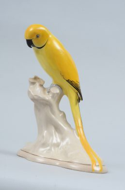Keeling Losol Ware Yellow Parrot