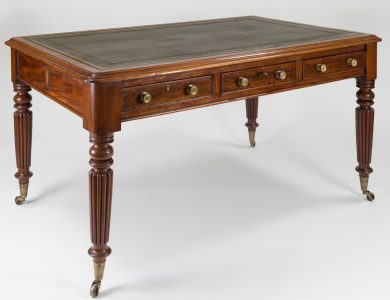 Regency Mahogany Partners Writing Table